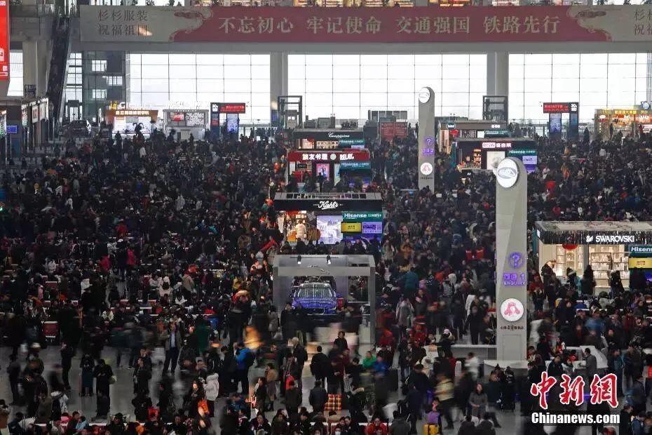 SEM-春节火车站人潮