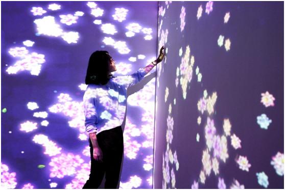 光影艺术体验营销图示2