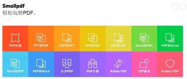 smallpdf轻松玩转PDF