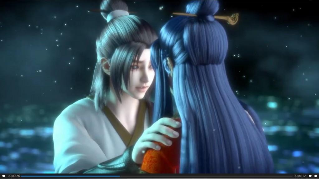 CG视频以及游戏内录素材图示