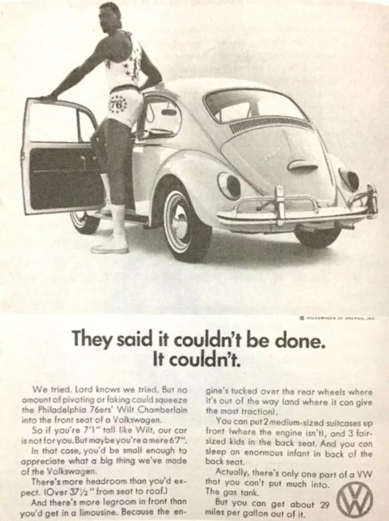 大众汽车广告图