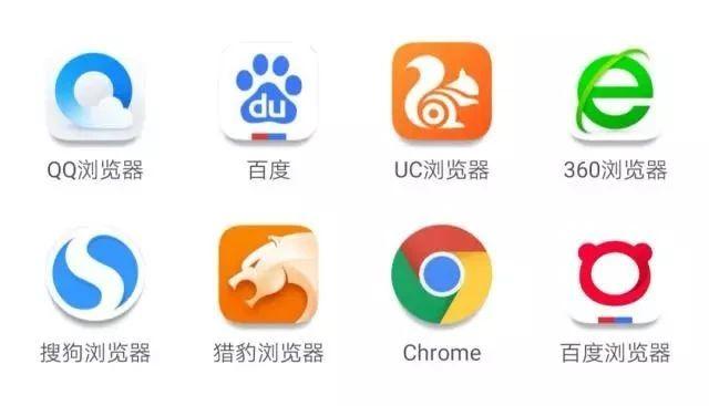各大浏览器